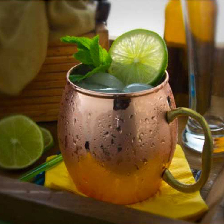 Copper Moscow Mule Mugs are Amazing