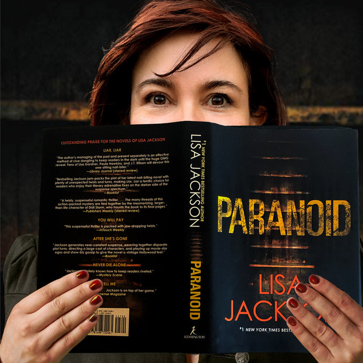 Book Review Paranoid by Lisa Jackson
