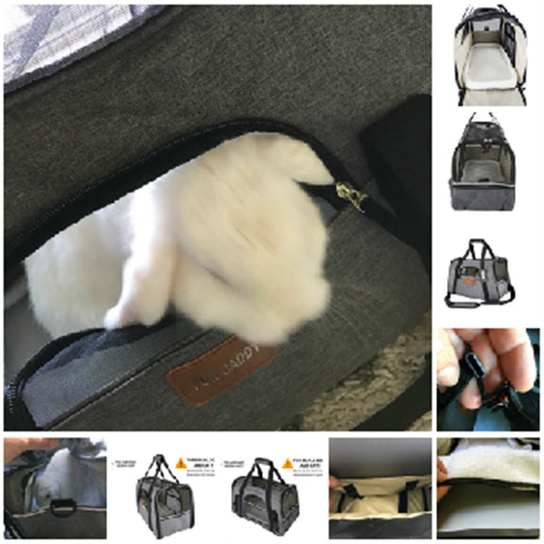 Soft Sided Pet Travel Carrier by Pawfect - Review