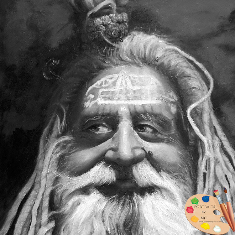 Sadhu ~ Original Oil Painting
