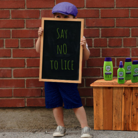 Repel Head Lice with Lice Shield Hair Care Products