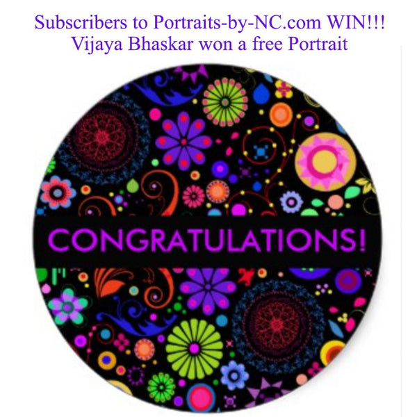 September Free Portrait Winner Announcement
