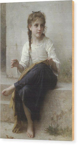 Sewing by Adolphe William Bouguereau