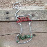 Wire Stocking Ornaments
