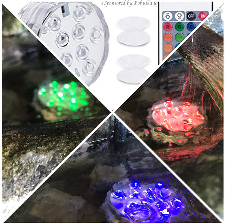 Submersible Lights with Remote Control