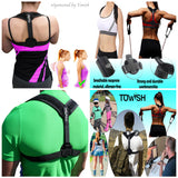 Posture Corrector and Back Support by Towish