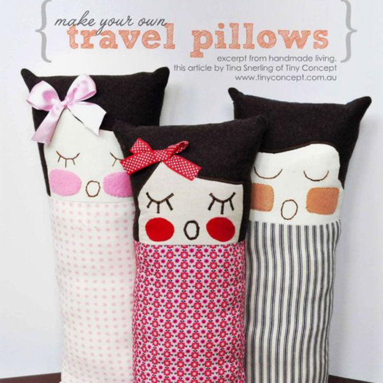 Make A Cute Travel Pillow for Kids
