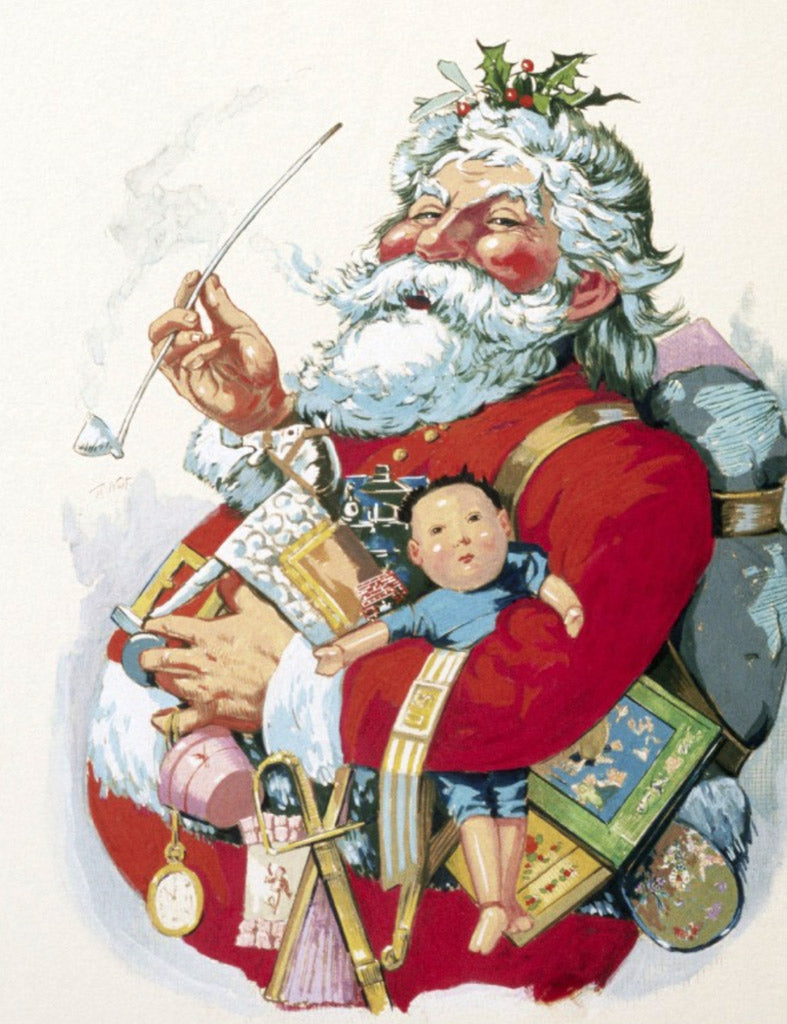 Santa Claus Paintings