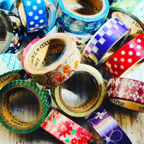 Washi Tape - Japanese decorative tapes