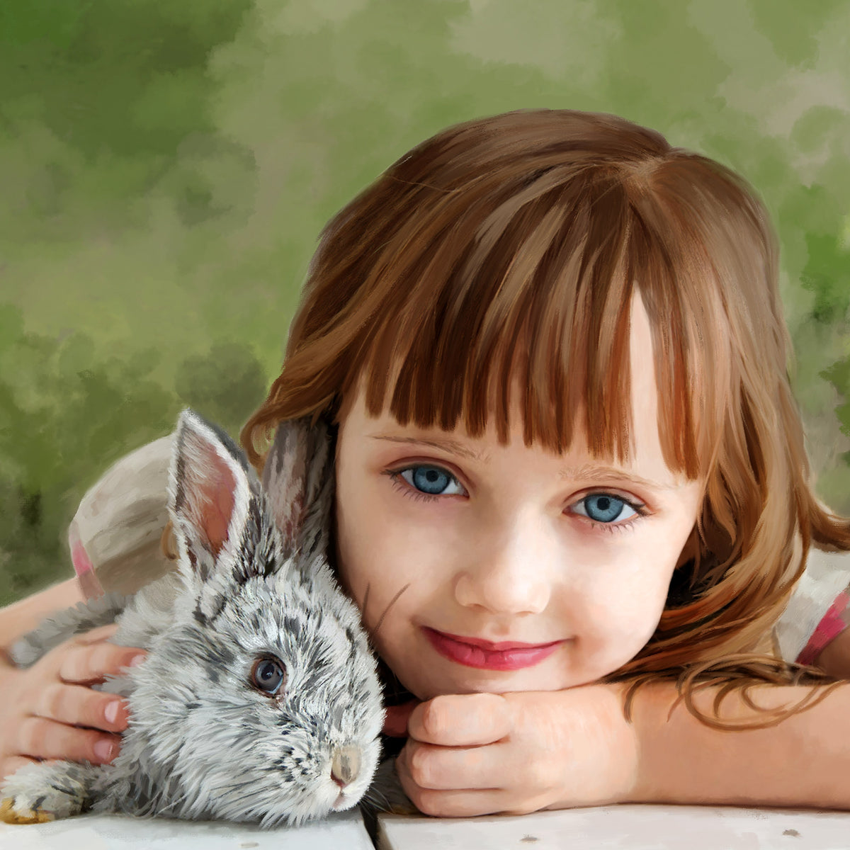 Portraits of Kids with Pets