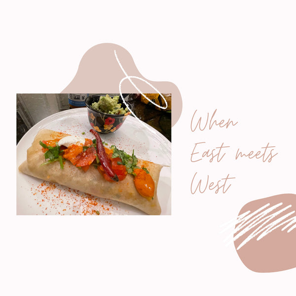 East Meets West Caliente Wrap