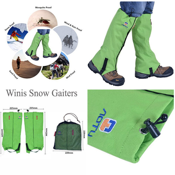 What are Leg Gaiters and How to Put Them On