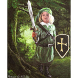 Young Robin Hood Portrait is Finished