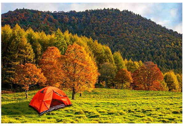 Camping with Vocona Tent