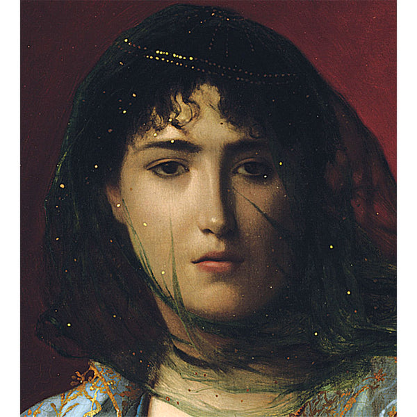 Veiled Circassian Beauty by Jean Leone Gerome