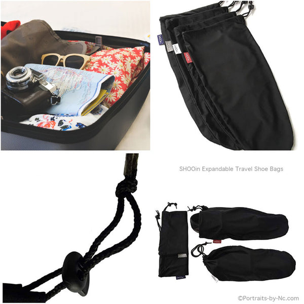 expandable shoe case