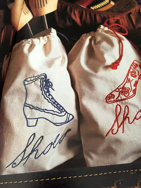 adorable handmade shoebags