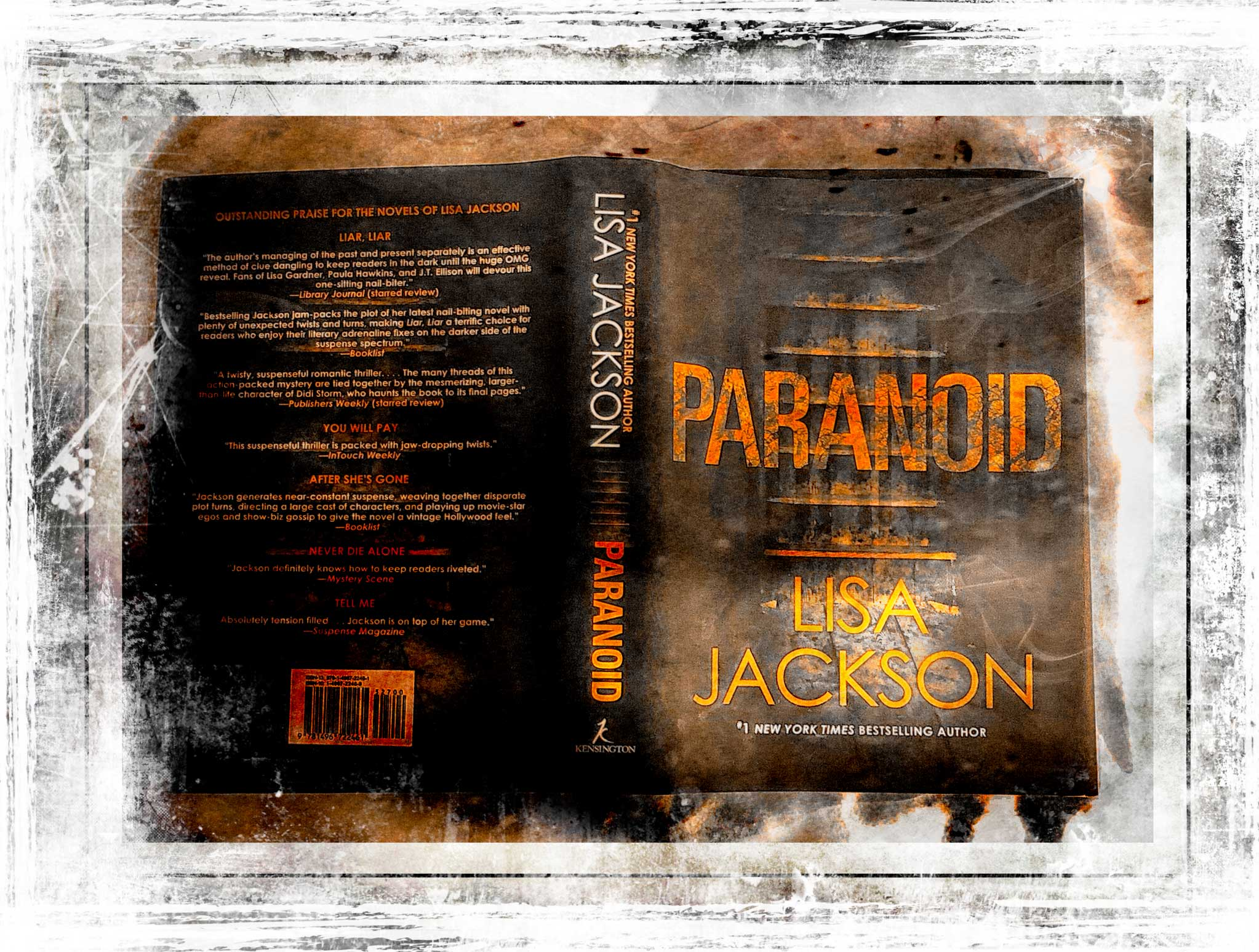 Paranoid Book by Lisa Jackson