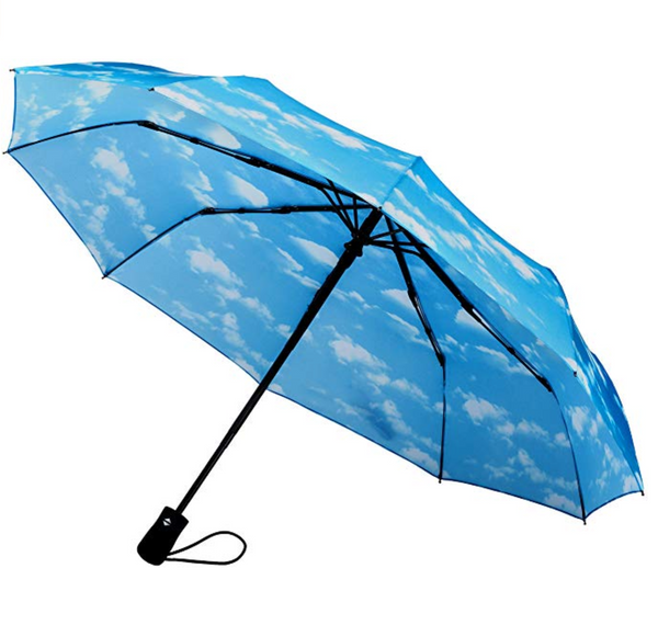 crown coast umbrella with clouds