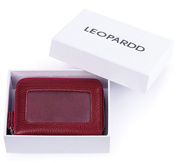 leopardd wallet with gift box