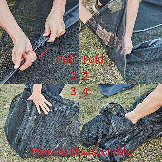 how to assemble cat tent