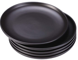 Ceramic black dishes