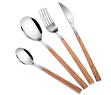 utensils with wood handles