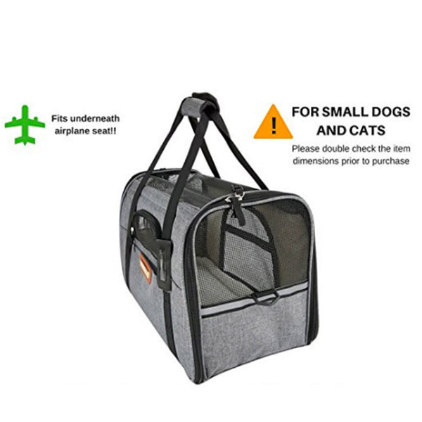 Soft Sided Pet Travel Carrier By Pawfect Review