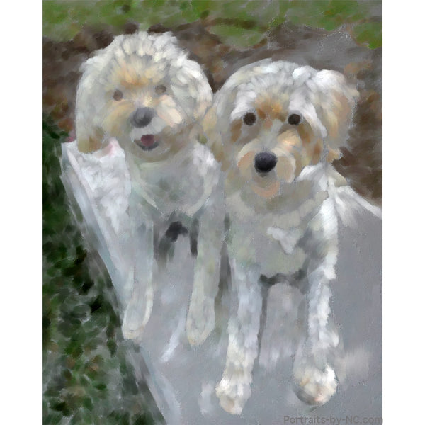 golden doodles loose block in