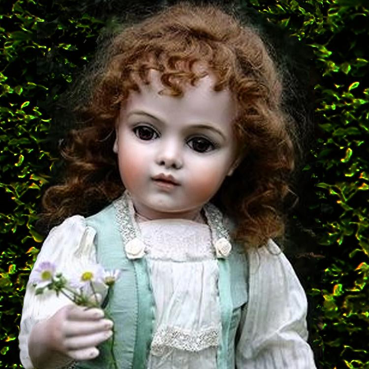 Porcelain dolls by Margit Gieszer