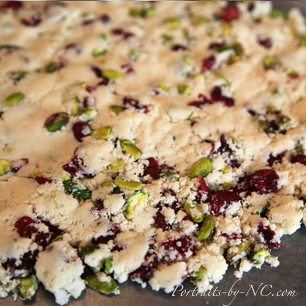 Cookie Dough with Cranberries