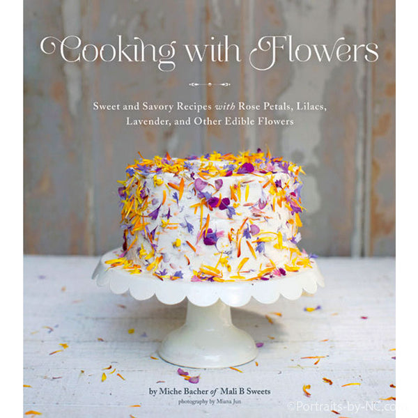 cooking with flowers book