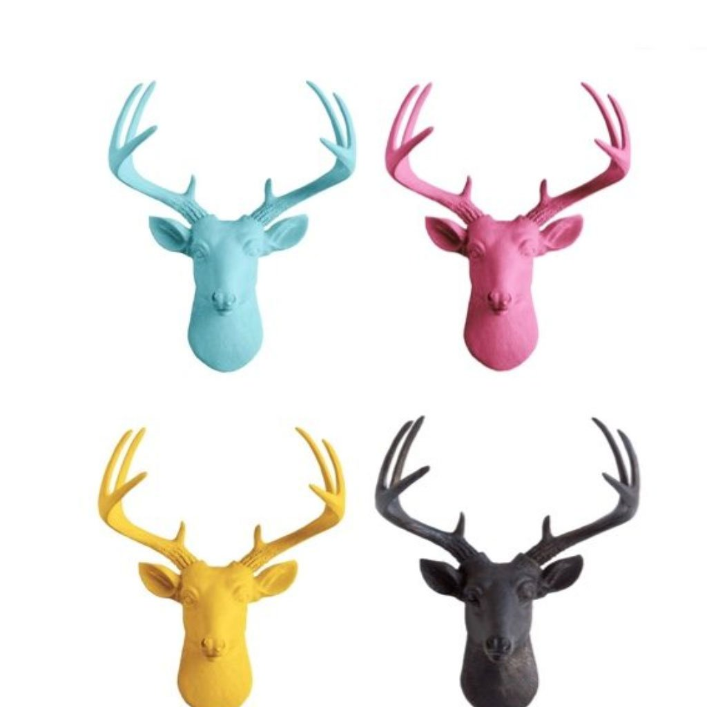 Customizable deer heads