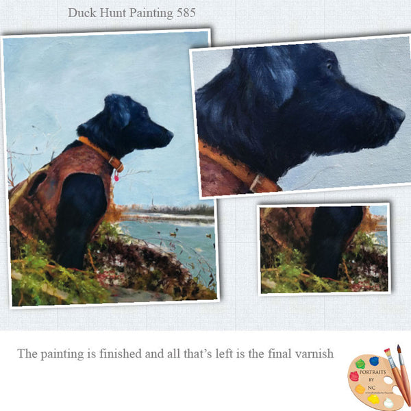 Duck-hunt-painting-details-585