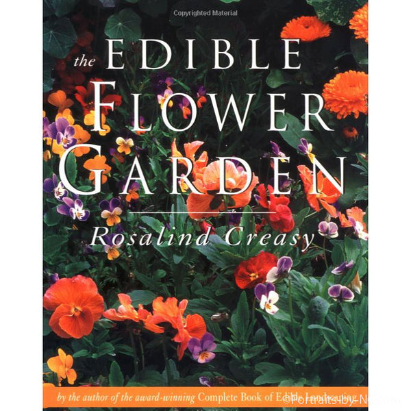 edible flower garden book