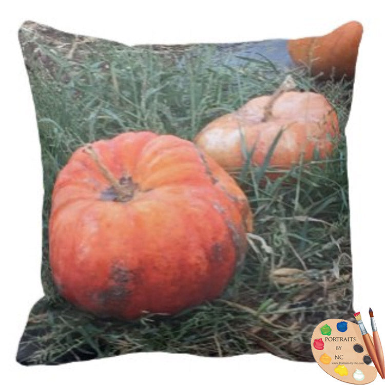 pumpkin pillow