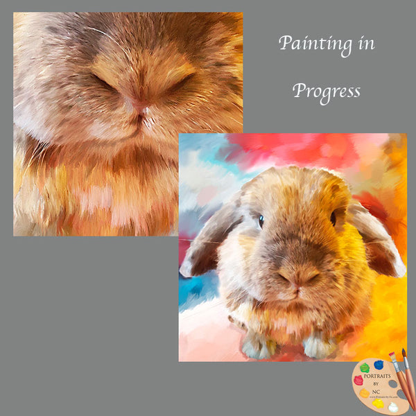 holland lop painting detail 600
