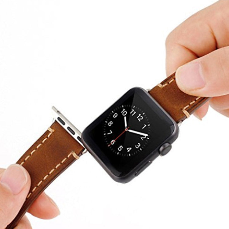 inserting watch band