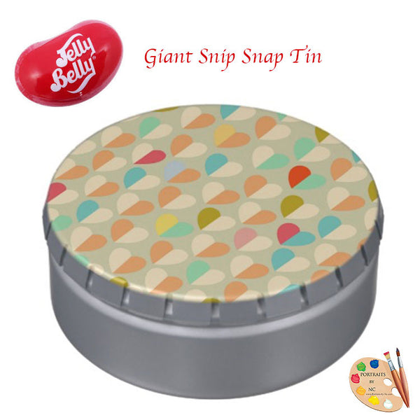 giant snip snap jelly bean tin