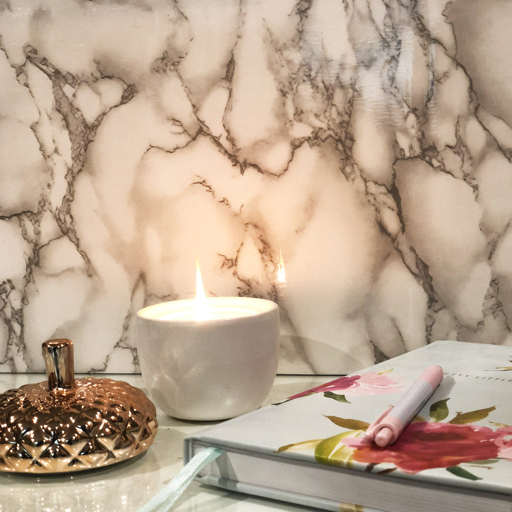Faux Marble Photo Backdrop