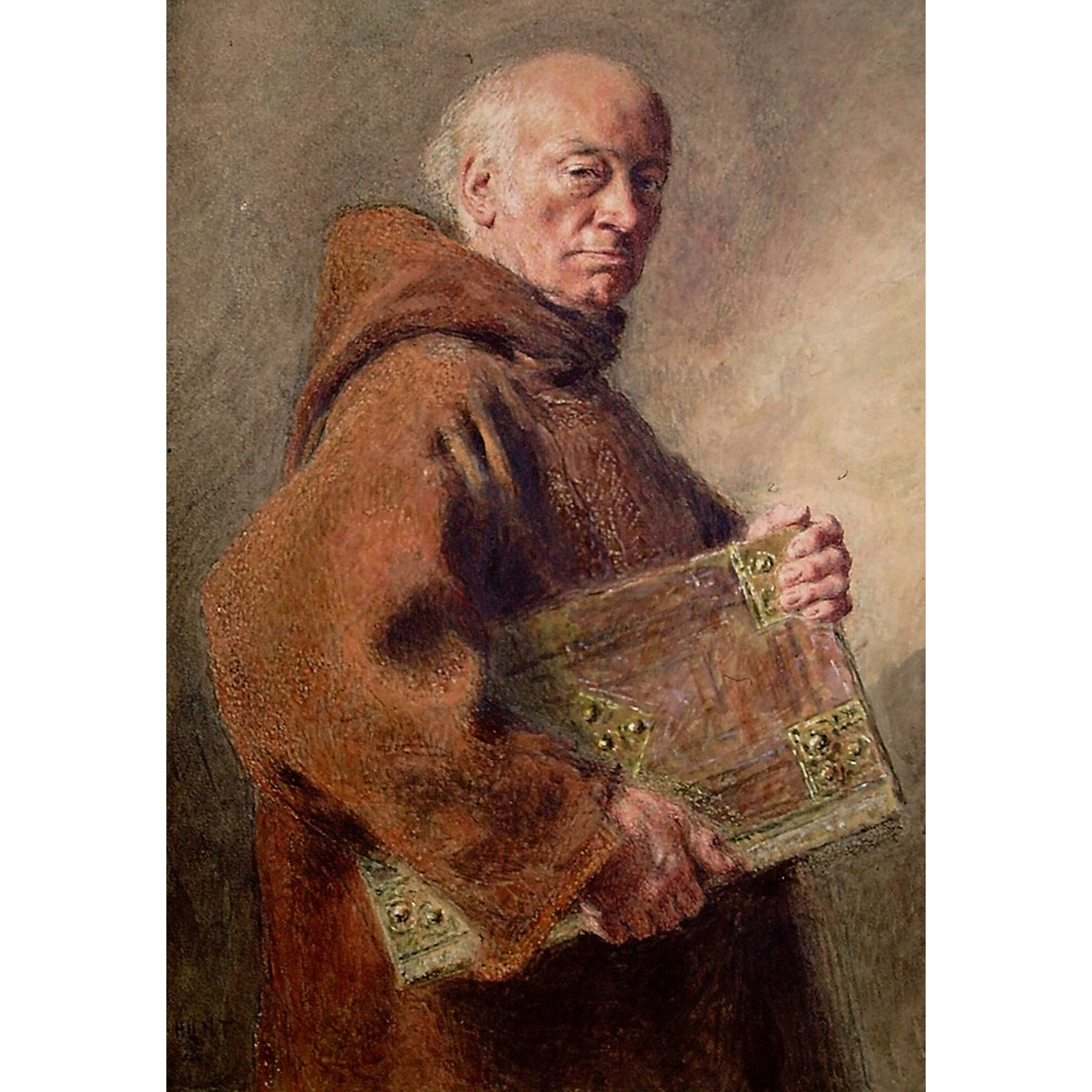 Monk by William Hunt