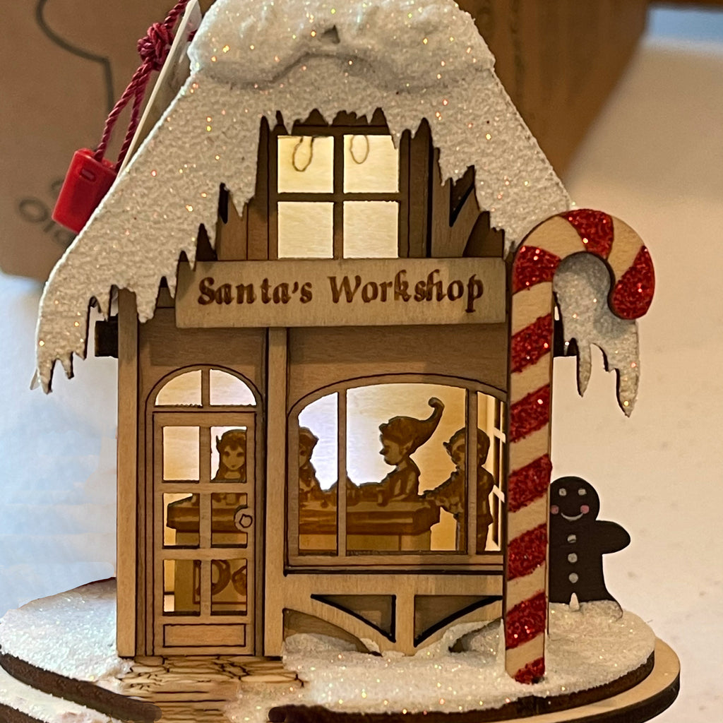 Ornament with surprise display