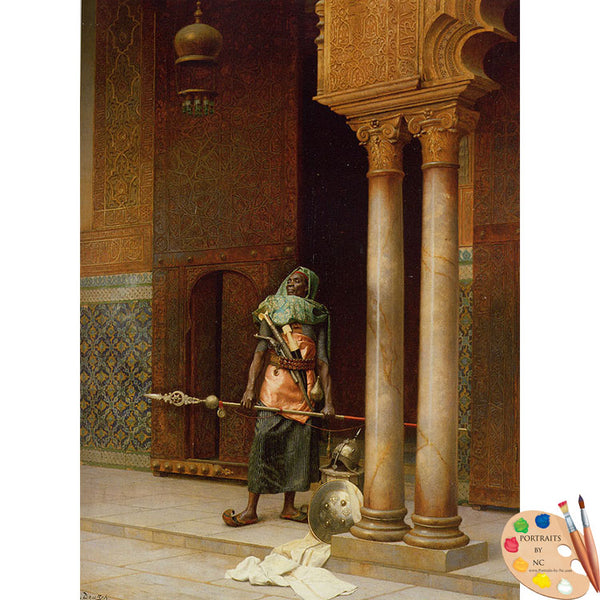 Palace Guard by Ludwig Deutsch