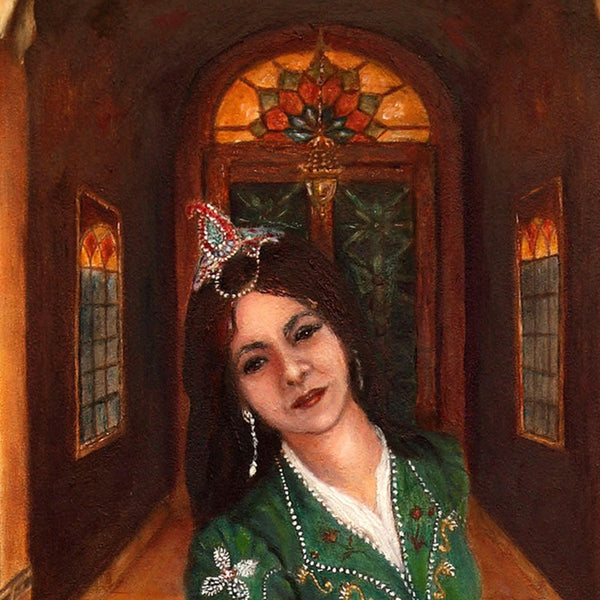 Persian Woman Painting