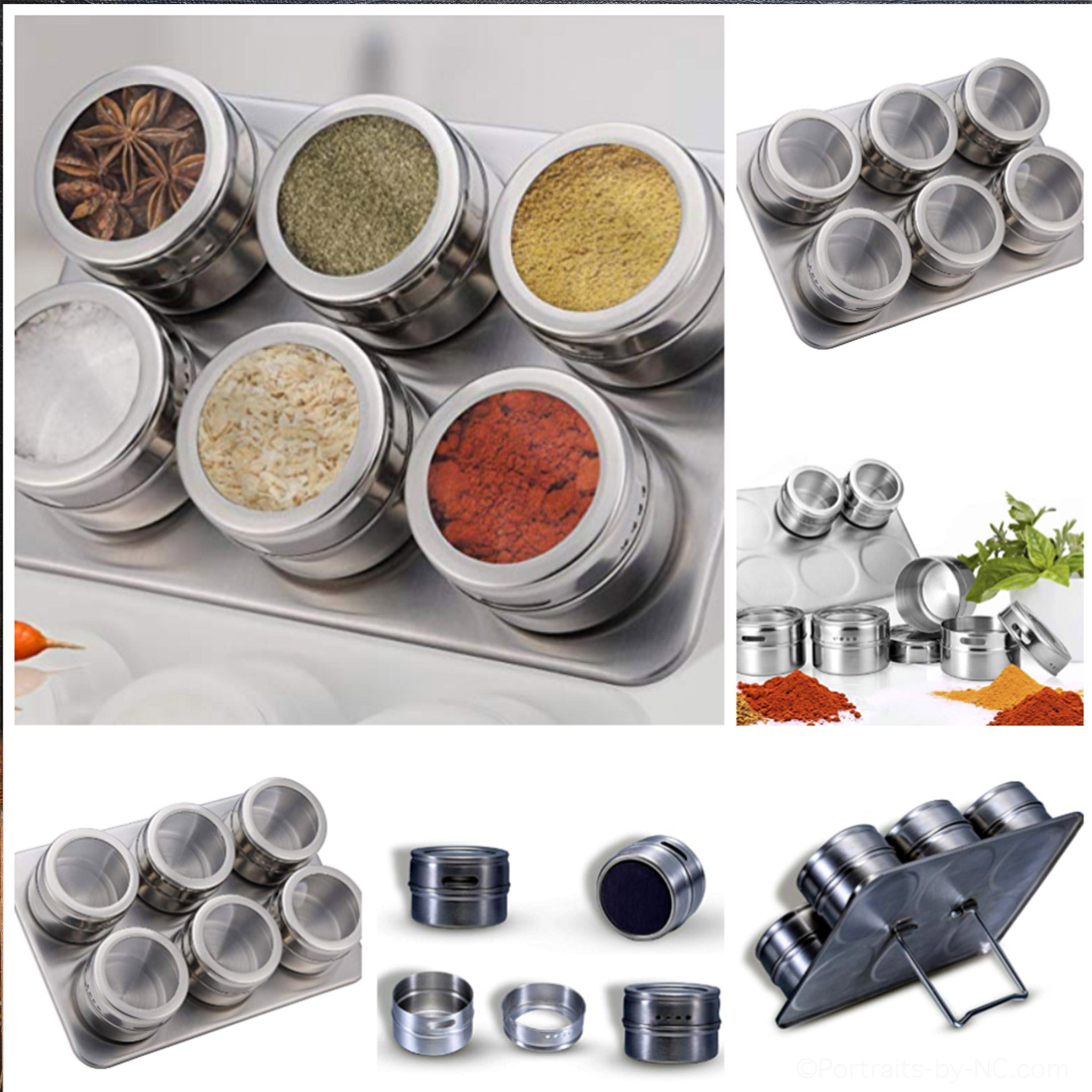 Pro Chef Magnetic Storage Containers