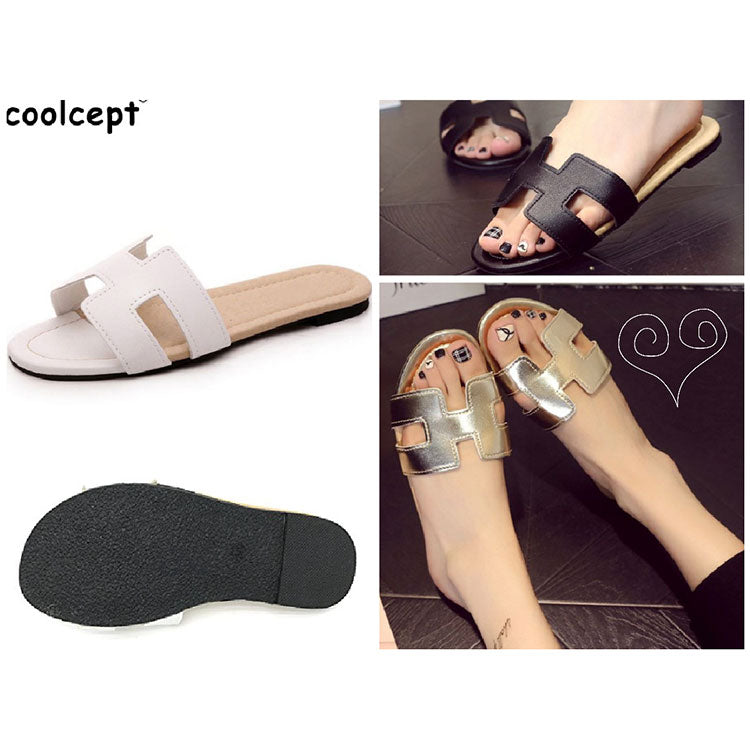 sandals in three colors