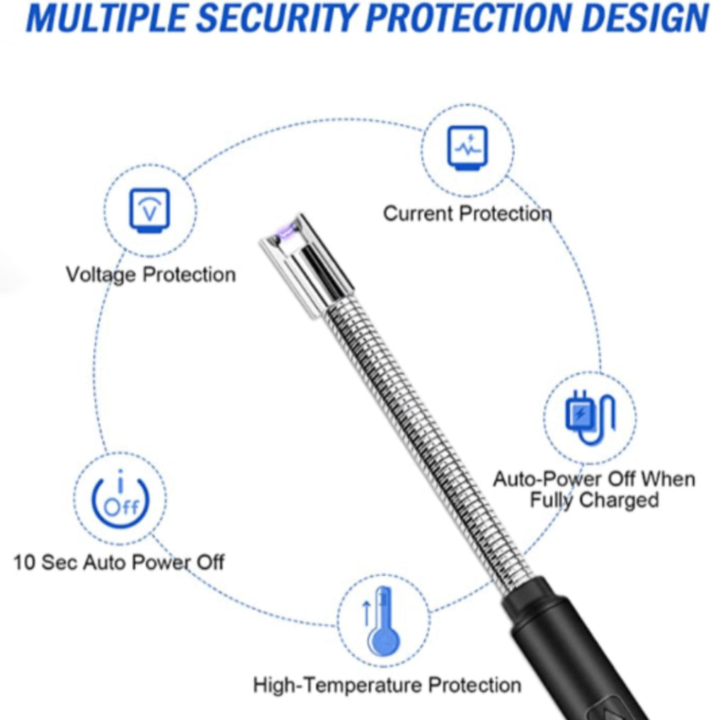 Security features of lighter