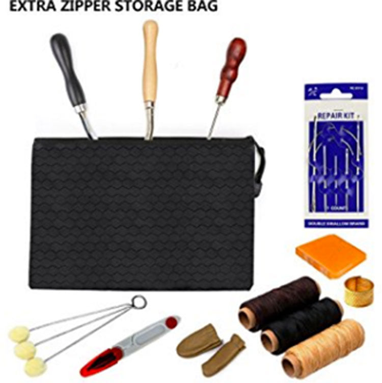 storage bag for leather kit