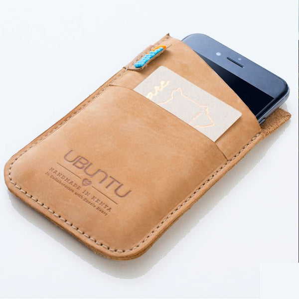 Ubuntu Leather Phone Case