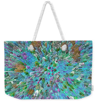 Blue Extrusion - Weekender Tote Bag - Portraits by NC
